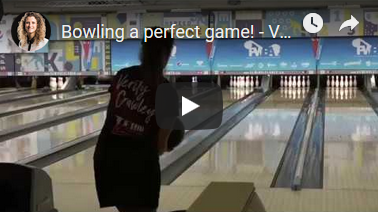 Verity Crawley Bowling a Perfect Game