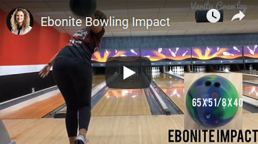 Verity Crawley Ebonite Bowling Impact