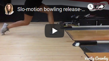 Verity Crawley Slow Motion Bowling Release
